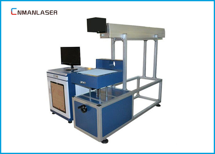 Water Cooling Laser Tube CO2 Laser Marking Machine For Nonmetals , 60w 80w 100w