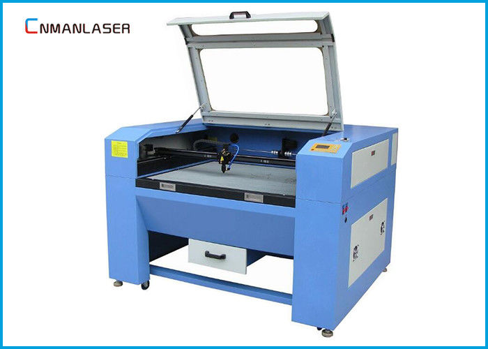 Desktop 100w 150w Glass Tube CO2 Laser Cutting Machine With Plastic Leather Wooden
