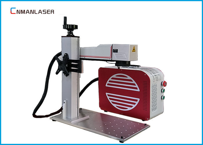 Split Type 20w 30w Copper Metal Laser Marking Machine IPG Raycus Max Sources